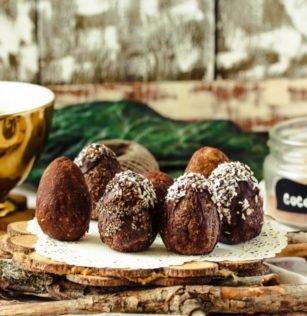 gesunde vegane ostereier schokolade