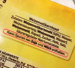 """Ist """"Kann Spuren von Milch und Eiern enthalten"""" trotzdem vegan?"""