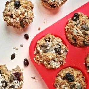 Müsli Muffins vegan