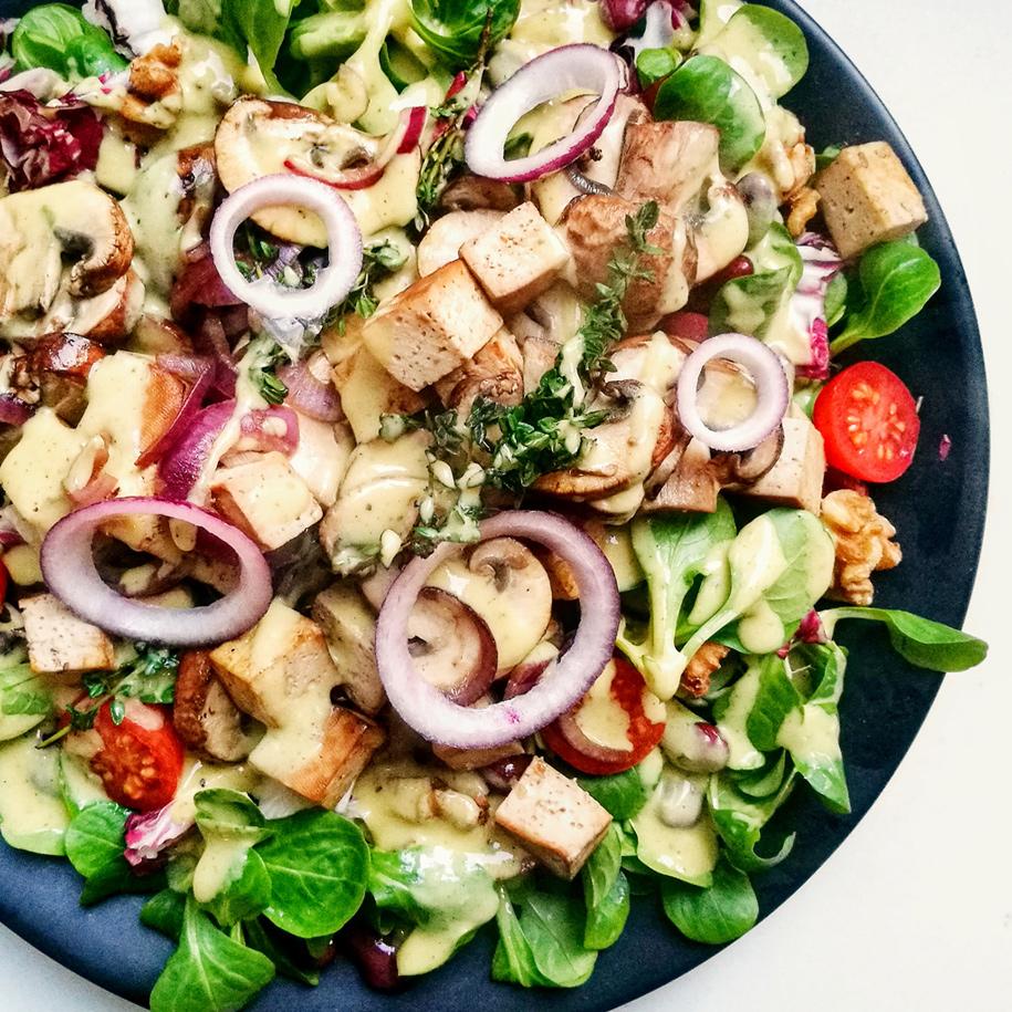 Ceasar Salad vegan