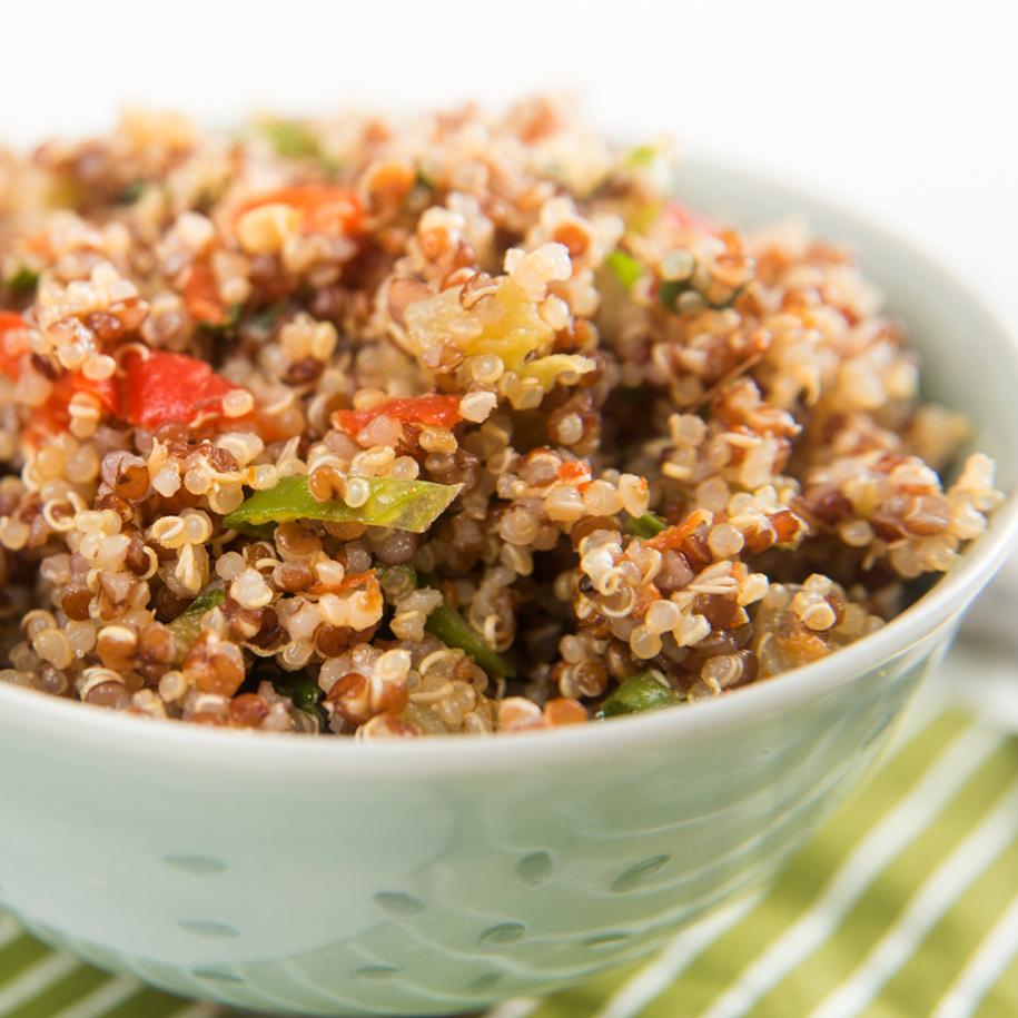 Orangen-Quinoa-Salat