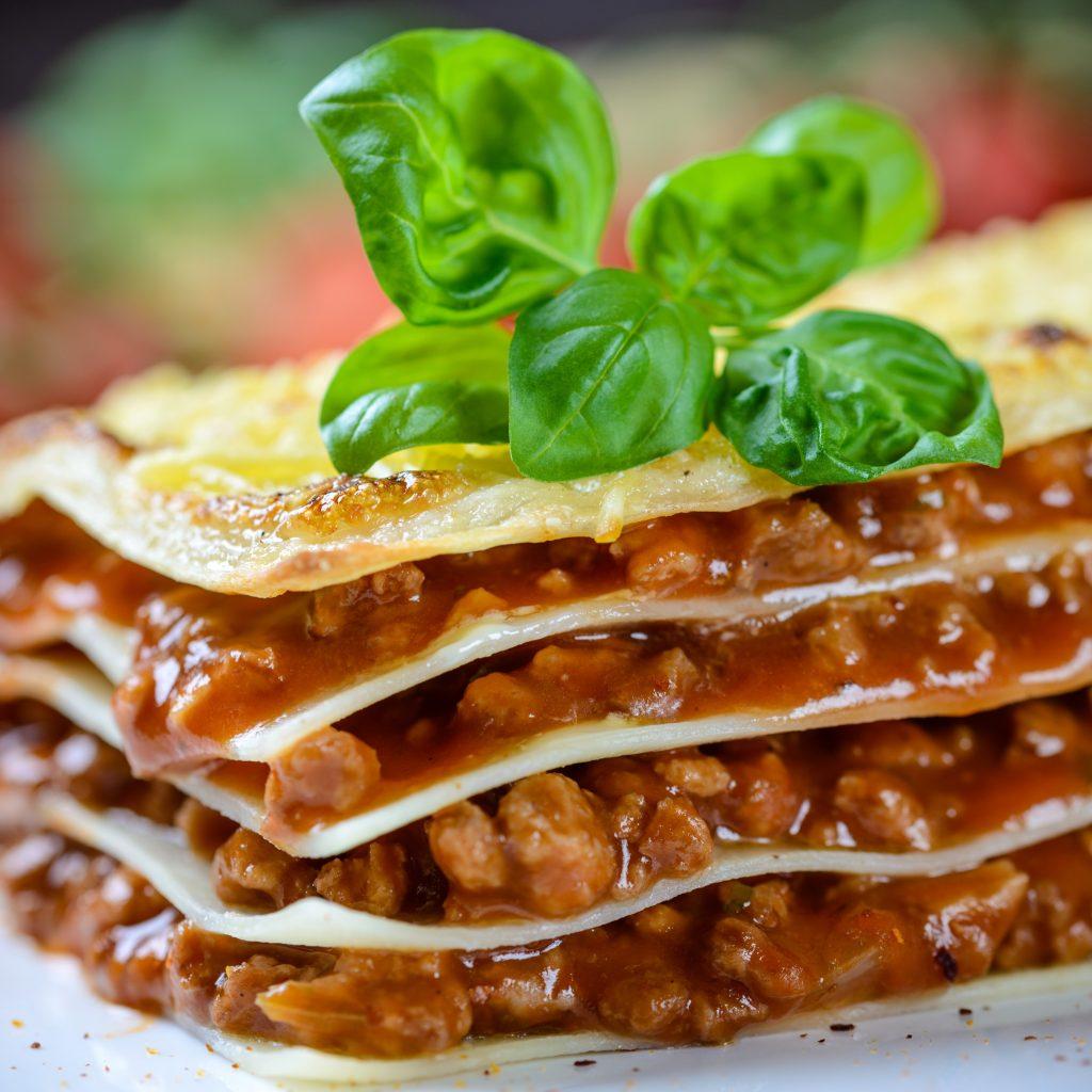 Veggie-Lasagne!