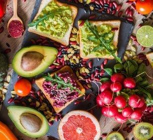 Vegan optimal versorgt
