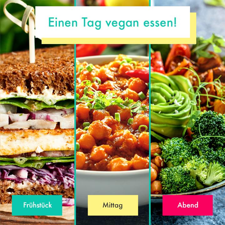 Beispieltag 1 vegan