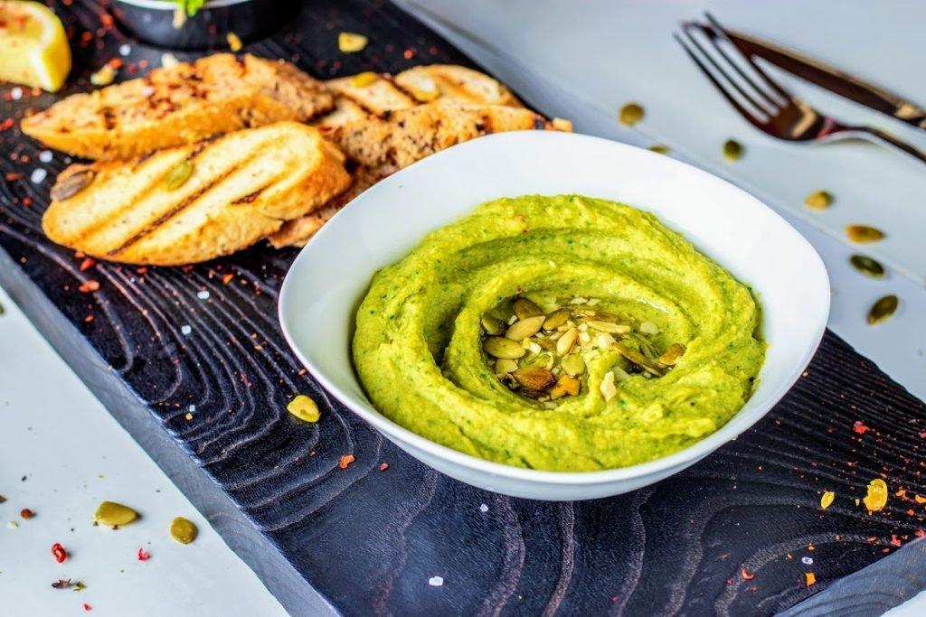 Spinat-Hummus