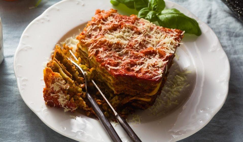 lasagne vegan love veg